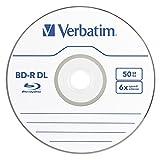 Verbatim BD-R 50GB 6X Blu-ray Recordable Media Disc