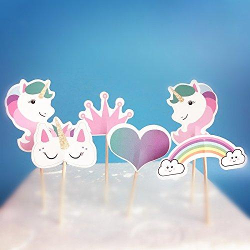 24 unidades de decoración para cupcakes con diseño de ...