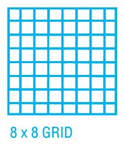 Alvin 1420-14 Cross Section Paper 8 inches x 8 inches Grid 100-Sheet Pack 17 inches x 22 inches by Alvin