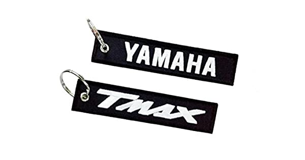 L-Yam Lanyard Llavero Colgante Moto TMax Xmax R6 R1 Azul