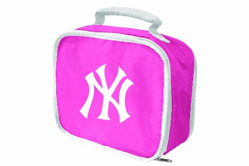 (MLB New York Yankees Lunchbreak Lunchbox, Pink)