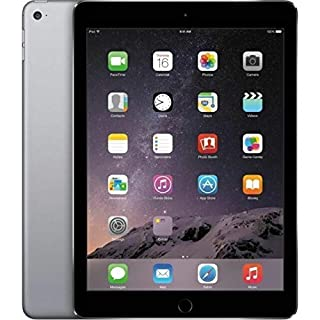 Apple iPad Air 2, 16GBSpace Gray - WiFi Only + Folio Case (Renewed)