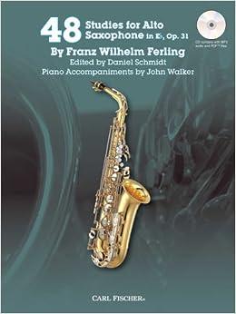 'EXCLUSIVE' 48 Studies For Alto Saxophone In Eb, Op. 31 W/CD. meneo Estonia gestion sales Larry Closed Listen