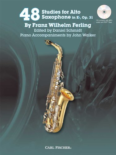 48 Studies for Alto Saxophone in Eb, Op. 31 w/CD