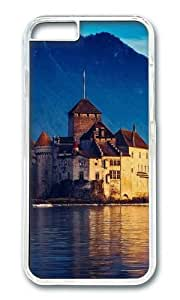MOKSHOP Personalized Lake Geneva Switzerland Hard Case Protective Shell Cell Phone Cover For Apple Iphone 6 (4.7 Inch) - PC Transparent by ruishername