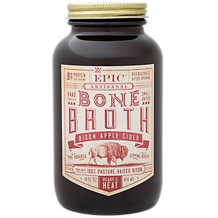 Meat Bison (EPIC PROVISIONS Apple Cider Bison Broth, 14 FZ)
