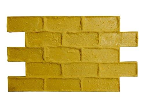 Capone Cobble Vintage Brick Decorative Concrete Stamp Mat Set (8 Piece)