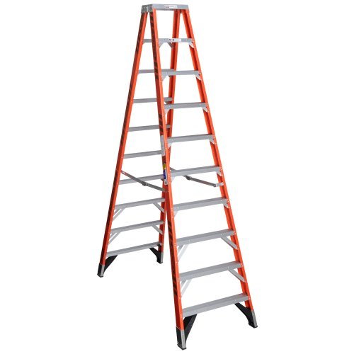 t7410 double sided stepladder
