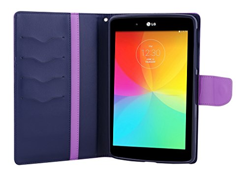 Lg 8806164327104 - Tablet funda para g pad 7 (negro) Purple/Navy