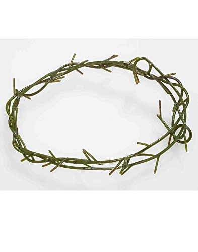 Jesus Thorn Crown Costume Accessory, Brown, One Size (Ladies Halloween Costumes Next Day Delivery)