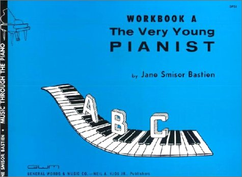 Very Young Pianist - GP53 - The Very Young Pianist Workbook A - Bastien