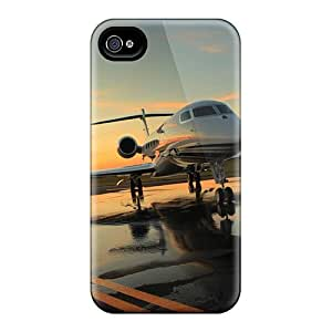 Cynthaskey ZDfmnBw7482hAhQv Case For Iphone 4/4s With Nice Gulfstream On Airport Appearance wangjiang maoyi