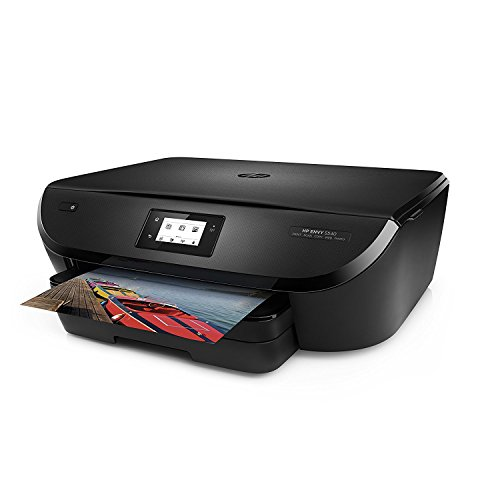 HP Envy 5540 Wireless All-in-One Photo Printer with Mobile Printing - Black (Certified Refurbished) by HP