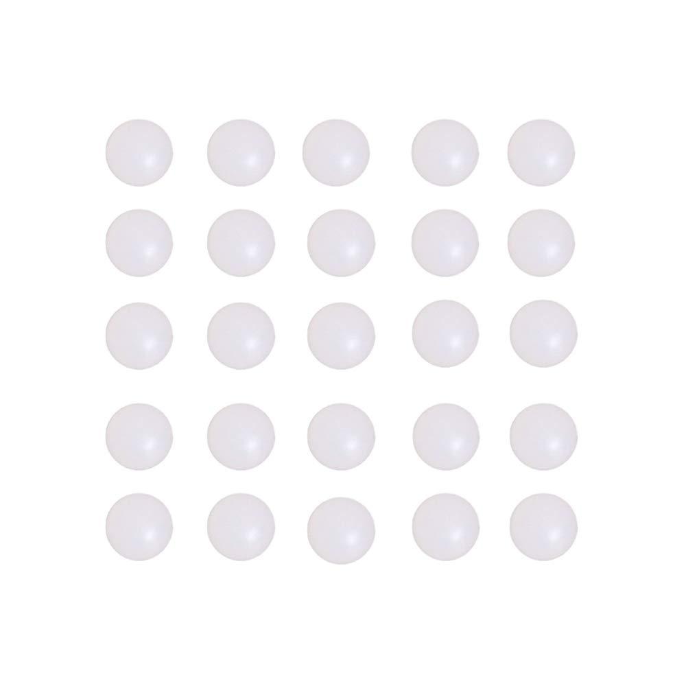 Solid Plastic Bearing Balls 14mm 50pcs Polypropylene PP