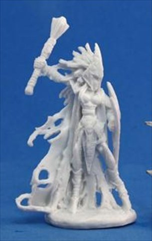 (Reaper Tierdeleira, Dark Elf Cleric (1) Miniature by)