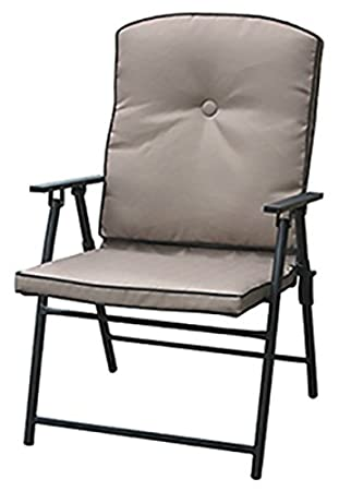 COURTYARD CREATIONS FUS52D3 Four Seasons Padded Folding Chair
