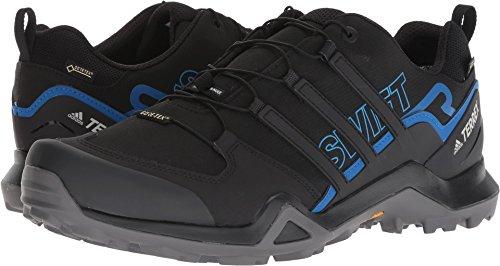 adidas outdoor Men's Terrex Swift R2 GTX¿ Black/Black/Bright Blue 6.5 D US by adidas outdoor (Image #3)