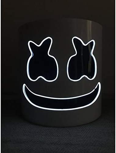 Wttfc DJ Marshmallow Casco Máscara, DJ Music Festival Máscara ...