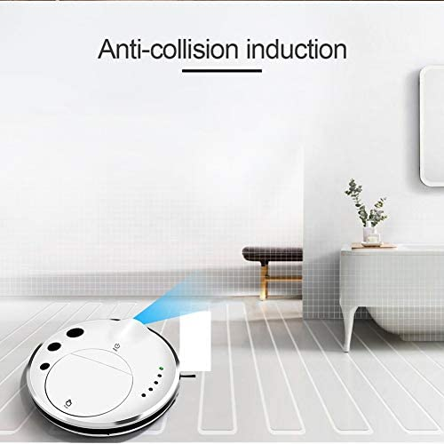 N / A Une Aspirateur Robot Intelligent, Nettoyage Vadrouille Recharge Automatique à ultrasons robotisée Aspirateur, for Tapis Nettoyage des ménages