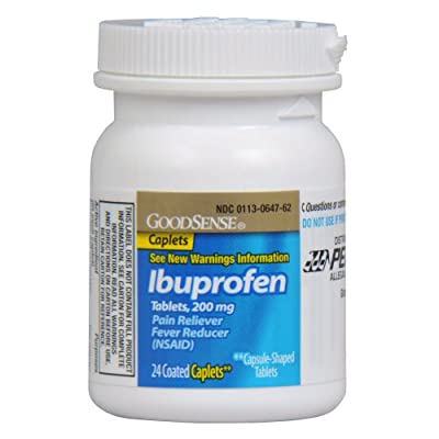 GoodSense Ibuprofen Pain Reliever/Fever Reducer Tablets, 200 mg