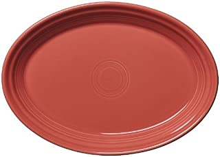product image for Fiesta 9-5/8-Inch Oval Platter, Flamingo