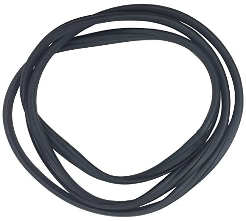 Fairchild Automotive D4051 Windshield Seal (Self-locking with Trim Groove, works with Chrome Trim; fits all models except Convertible)