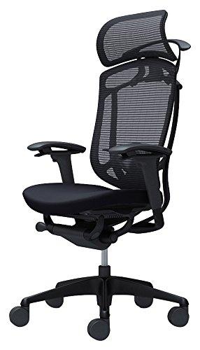 オカムラ オフィスチェア コンテッサ セコンダ 可動肘 エクストラハイバック 座:クッション セージ CC87MR-FPC6 B072397JHM 可動肘|セージ|オプションなし セージ 可動肘
