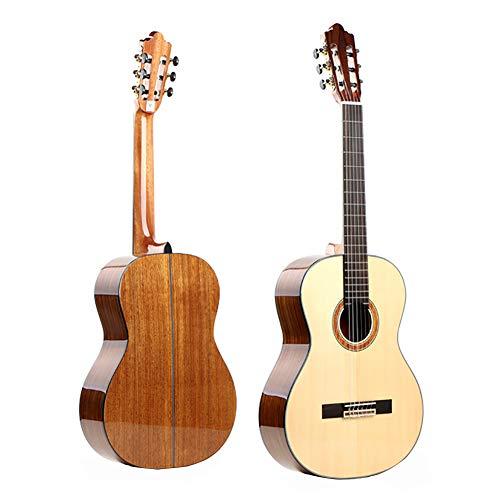 - NUYI 39 Inch Handmade High-Grade Veneer Classical Guitar Spruce Students Beginners Guitar
