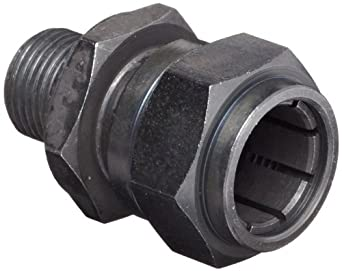 """Brown & Sharpe 599-8941 Collet Clamp for Dial Indicators, 3/8""""-32 Mounting Thread, 1/4"""" Hole Dia."""