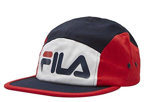 b3b1f57b58a Fila 5 Panel Color Blocked Camper Hat - Fila Hat Cap