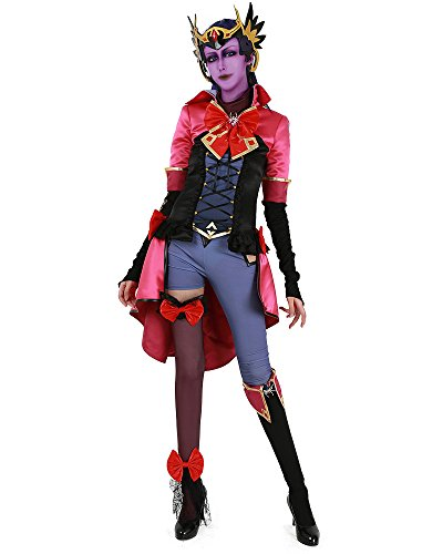 Miccostumes Women's Magical Girl Widowmaker Cosplay Costume with Headwear (women xl) - Magical Girl Costume Maker