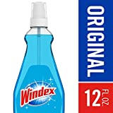 Windex Glass Cleaner with Sprayer, 12 fl oz