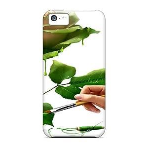 VoH12642acPn LauraKrasowski Painting Of Love Durable Iphone 5c Cases