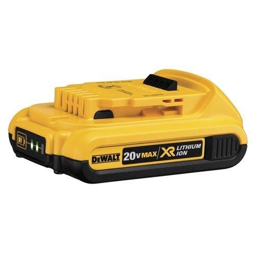 DEWALT DCB203 20V Max 2.0AH Compact XR Li-Ion Battery Pack (Renewed)