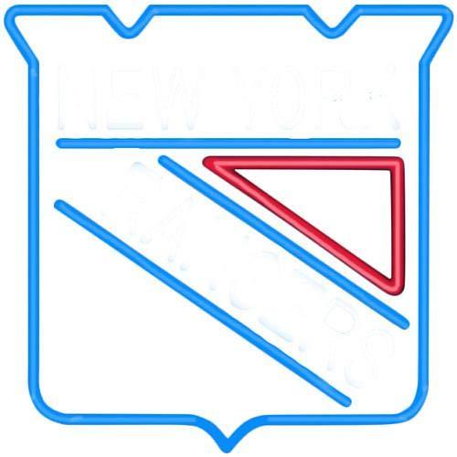 Imperial Officially Licensed NHL Merchandise:: Neon Light, New York Rangers
