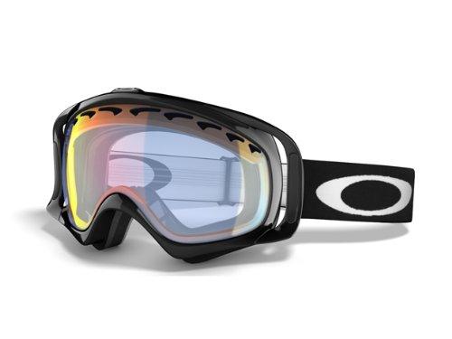 Oakley Crowbar Snow Goggles Fire Iridium Jet Black
