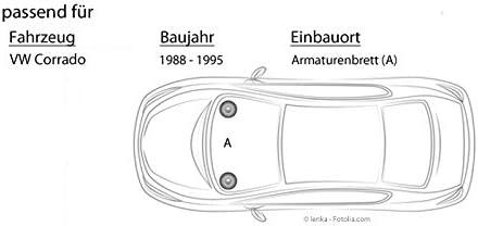 Lautsprecher Boxen Jbl Stage2 424 2 Wege 10cm Koax Auto Einbauzubehör Einbauset Für Vw Corrado Front Just Sound Best Choice For Caraudio Navigation
