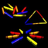 "Fun - Central V78- 1.5"" 50ct Mini Glow Stick, Emergency Glow Sticks, Glow Stick Party Pack, Cool Glow Sticks, Glow in the Dark Glow Sticks, Concert and Rave Party Glow Stickss - Assorted Colors"
