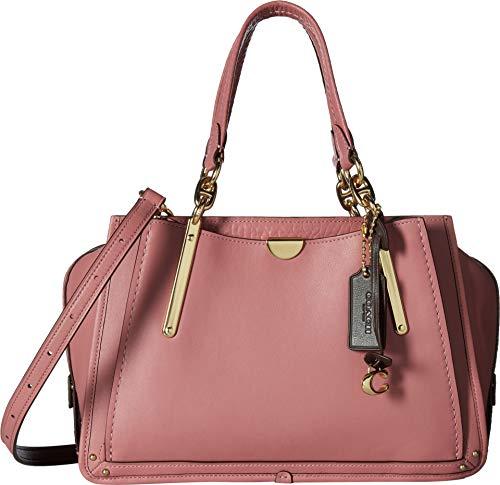 COACH Women's Dreamer in Color Block Leather Li/Rose Multi One Size -