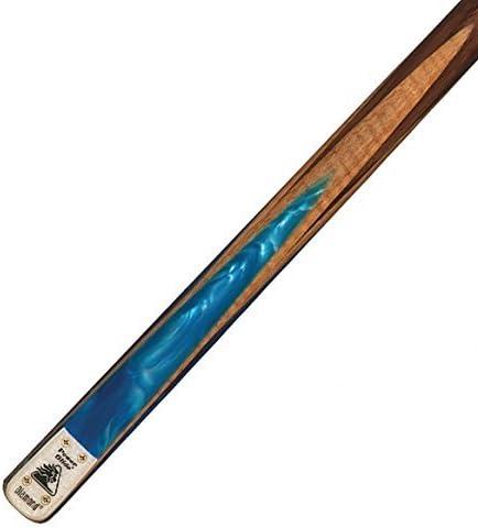 Power Glide Diamond – Taco de billar de 2 partes en diferentes pesos y colores, azul, 17 oz: Amazon.es: Deportes y aire libre