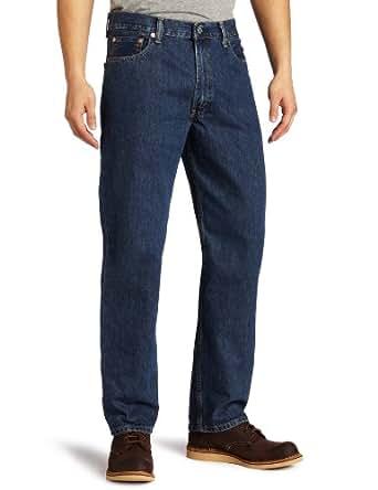 Levi's Men's 550 Relaxed Fit Jean - Big & Tall, Dark Stonewash, 32x38