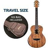 Washburn Comfort G-Mini 55 Koa Travel Size Acoustic Guitar