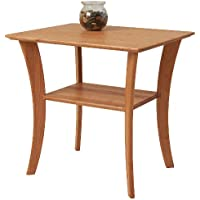 Manchester Wood Cherry Rectangle End Table - Natural Cherry