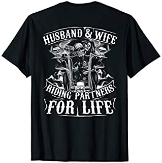 [Featured] Husband And Wife Riding Partner For Life Biker (on back) in ALL styles | Size S - 5XL