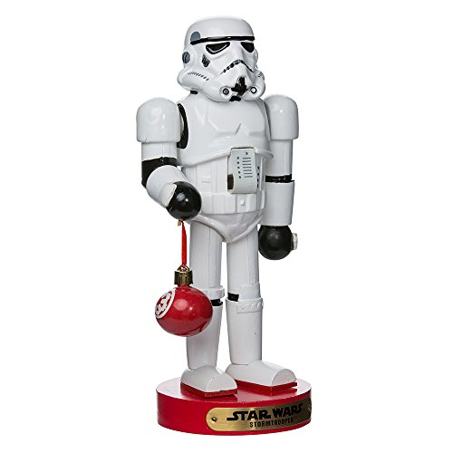 Kurt Adler Stormtrooper Ball Ornament Nutcracker, 12-inch (SW6153L)