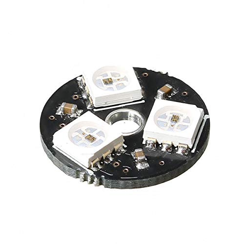 10pcs -3bit WS2812 RGB LED Full Color Drive LED Light Circular Smart Development Board for Arduino by CJMCU (Image #1)