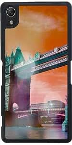 Funda para Sony Xperia Z2 - London Tower Bridge, Bokeh by More colors in life