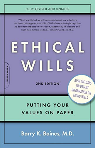 Ethical Wills: Putting Your Values on Paper, 2nd Edition from Brand: Da Capo Press
