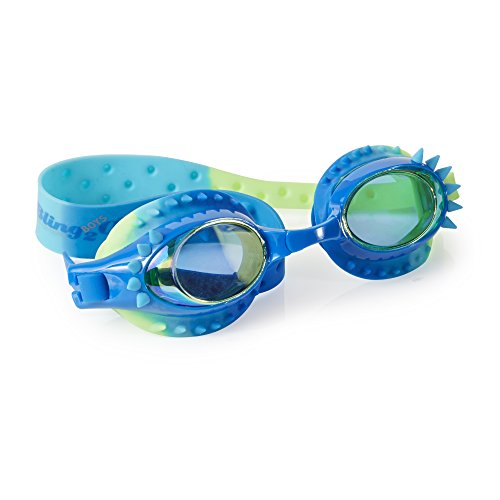 [Swimming Goggles For Boys - Aquaman Kids Swim Goggles By Bling2o (Guppie Green)] (Red Baron Baby Costume)