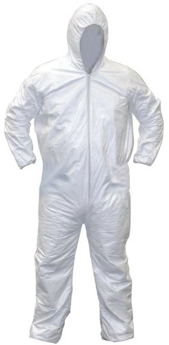SAS Safety 6893 Gen-Nex All-Purpose Hooded Painter's Coverall, Large by SAS Safety
